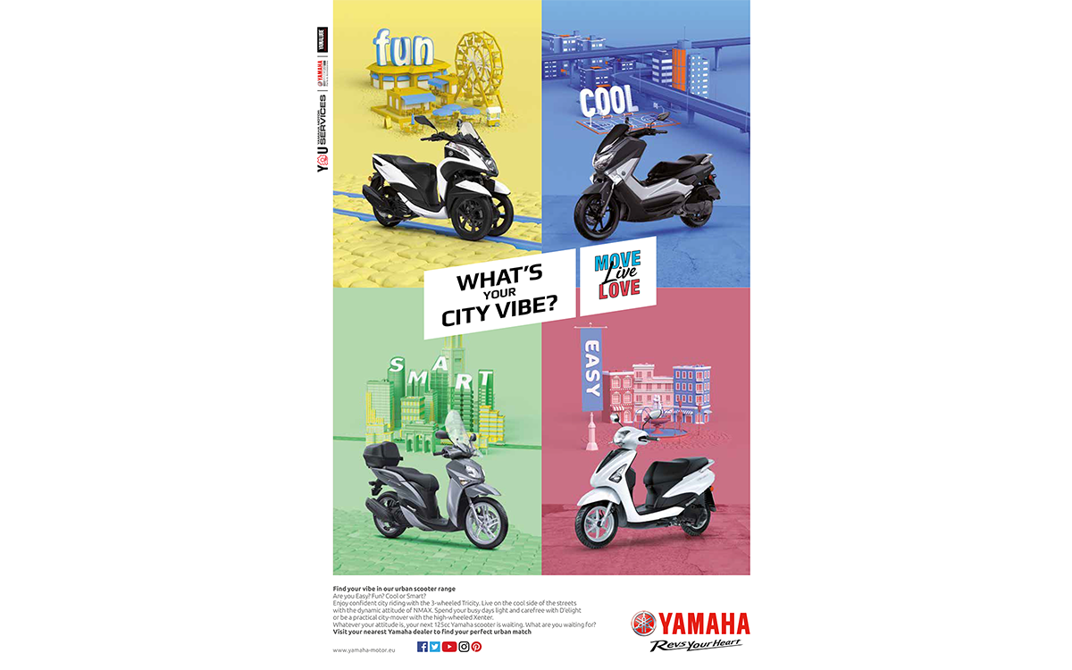 TANDEM_Communication_Partner_PRESTAMPA_e_RITOCCO_IMMAGINI_yamaha_scooter_urban_mobility_fun_love_life