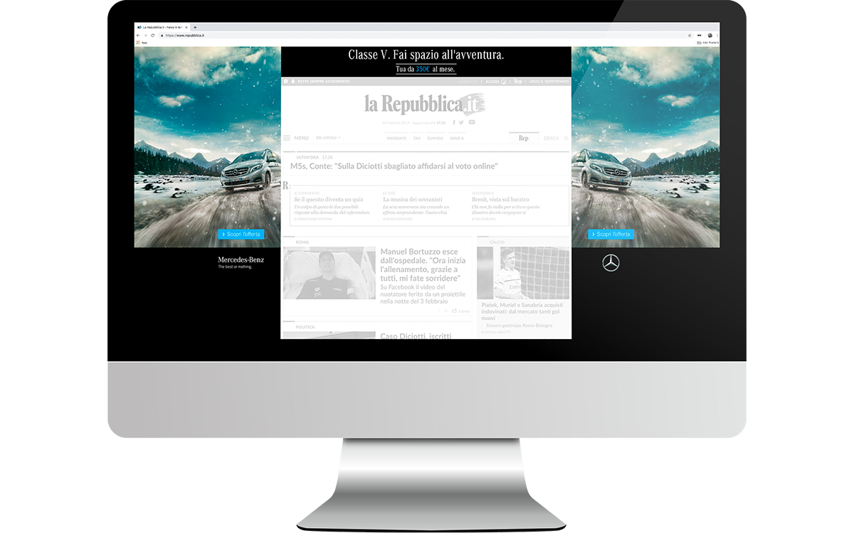 TANDEM_Communication_Partner_PRODUZIONE_DIGITAL_ADVERTISING_MercedesBenz_ClasseV_Skin_Homepage